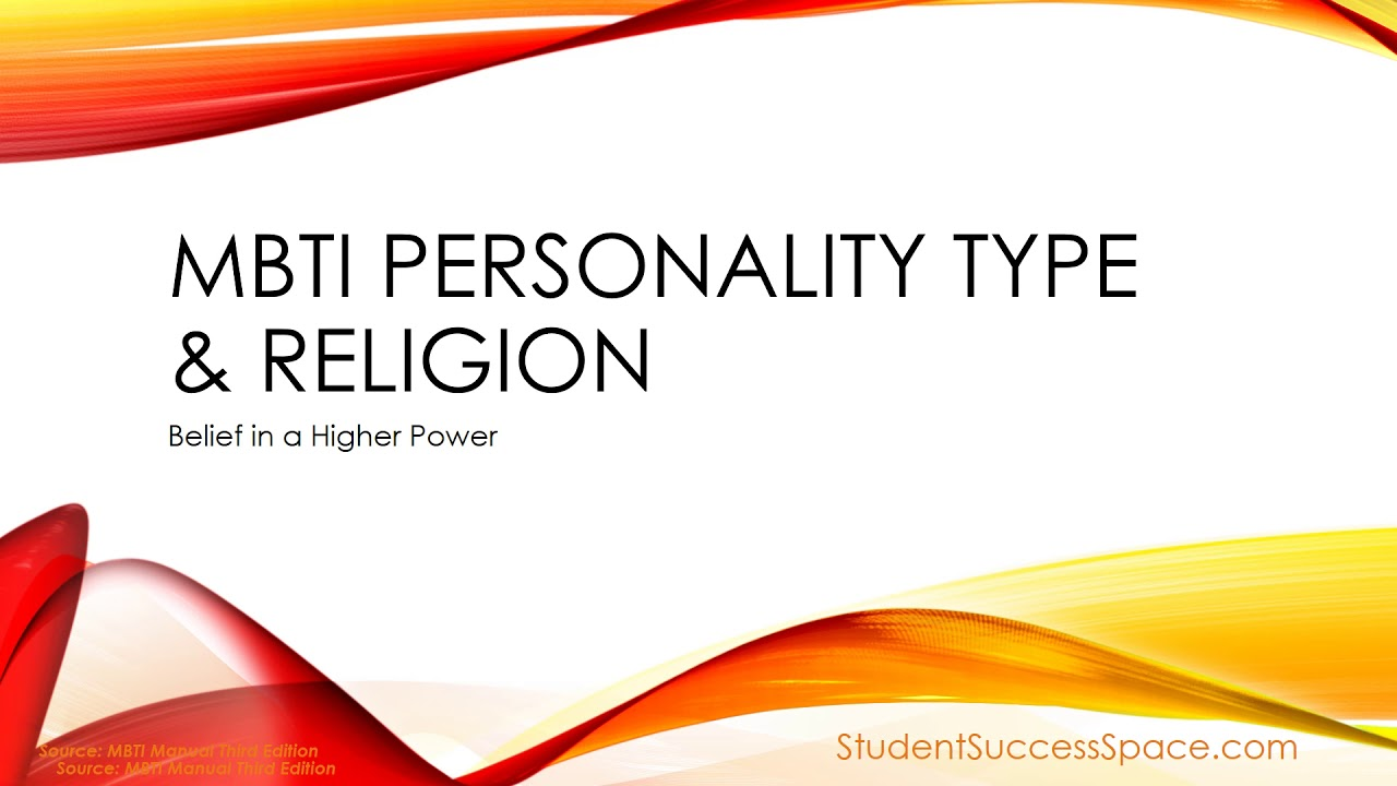 Religion and personality type