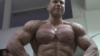 Milan Šádek - Chest, Biceps - 7 days out from Arnold Classic 2013