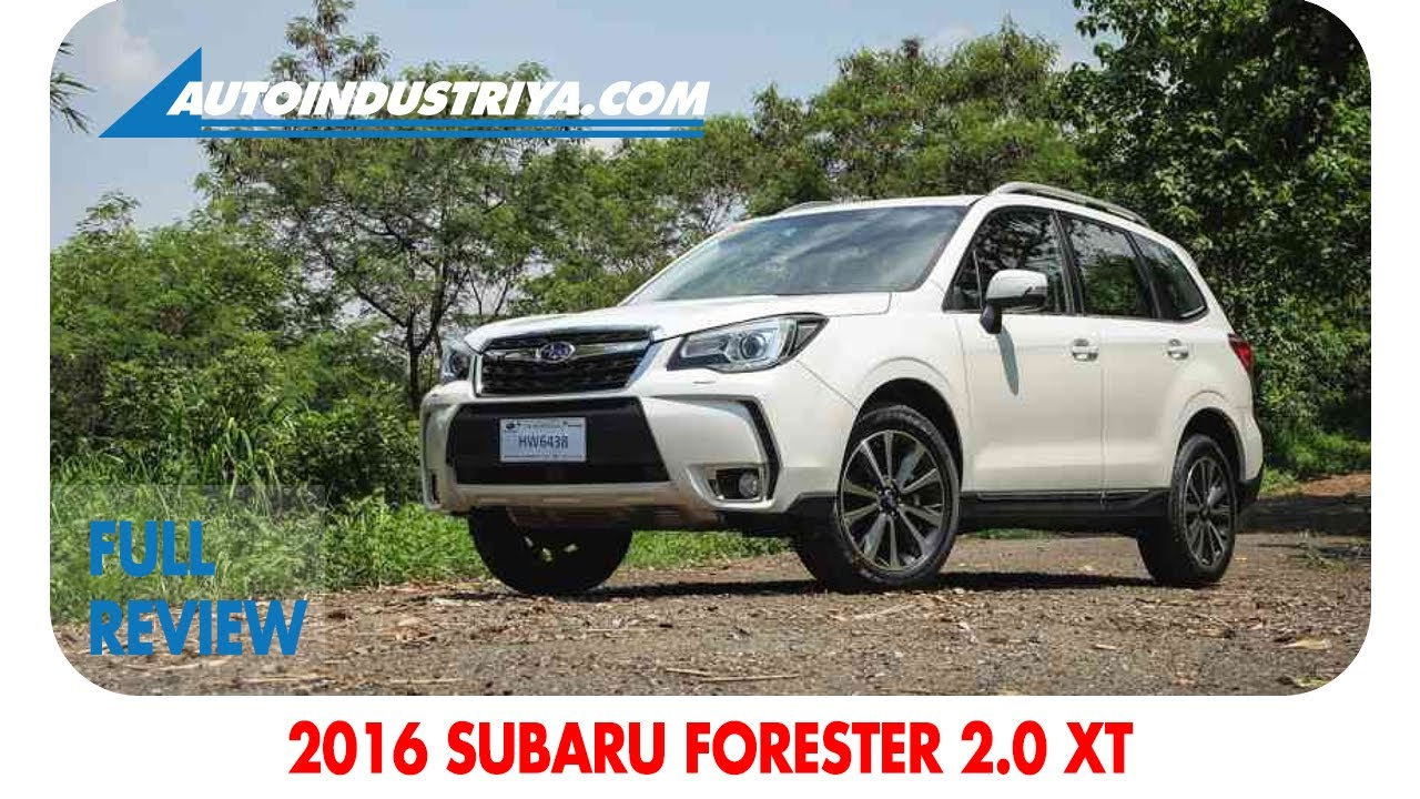 2017 Subaru Forester 2.0 XT review - YouTube
