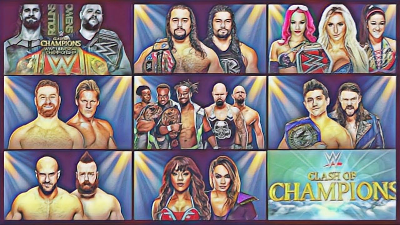 Download WWE CLASH OF CHAMPIONS 2016 LIVE STREAM