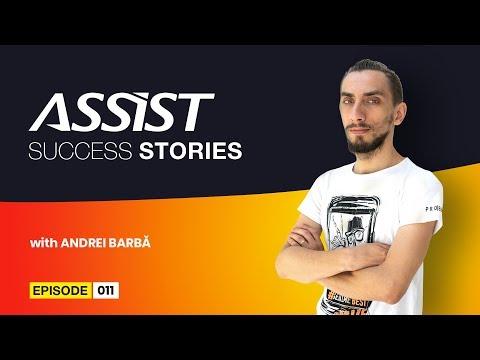 Meet the team - Ep. 11   Interviu cu Andrei Barbă - 2D Artist   ASSIST Software