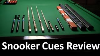 Snooker Cues - Woods snooker cues review
