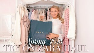 THE BEST SPRING ZARA TRY ON HAUL ~ SPRING FASHION EDIT ~ Freddy My Love
