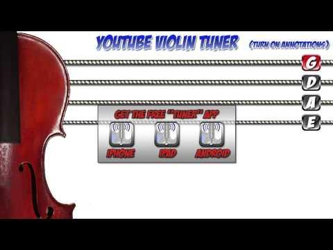 YOUTUBE VIOLIN TUNER