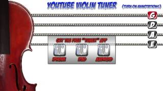 YOUTUBE VIOLIN TUNER
