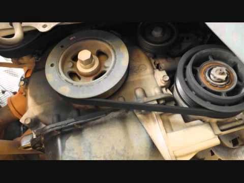 2012 Dodge Caliber Serpentine Belt Replacement Youtube