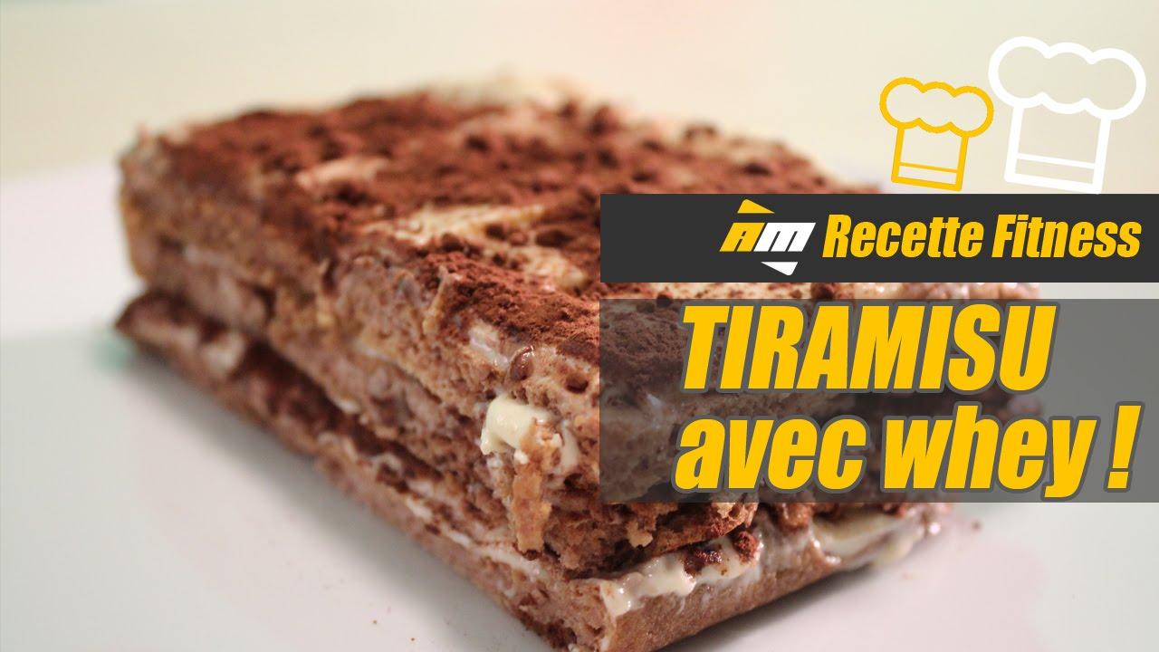 Hervorragend Recette Tiramisu à la whey protéine par Jean de All musculation  FW31