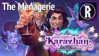Hearthstone: One Night in Karazhan - The Menagerie: Class Challenges