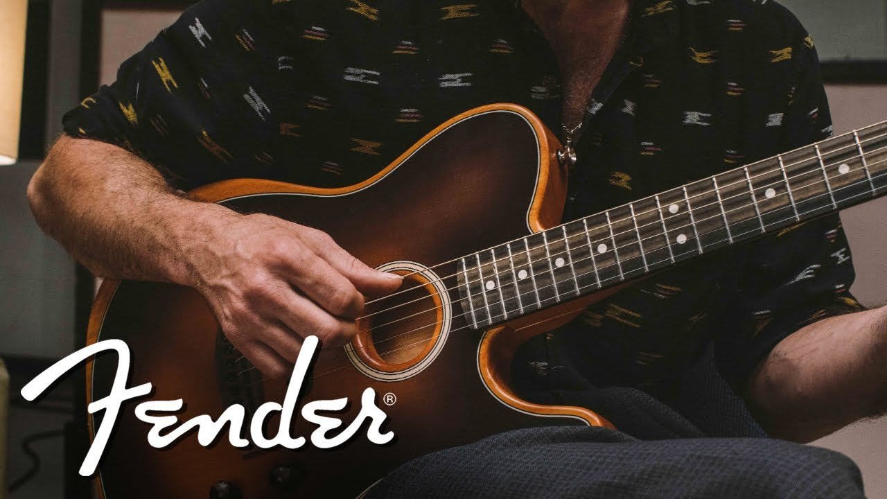 Fender's Acoustasonic Guitar is a Tonal Chameleon   Digital
