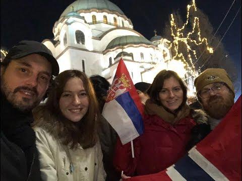 President Putin, welcome to Belgrade - Предсједниче Путине, добродошли у Београд