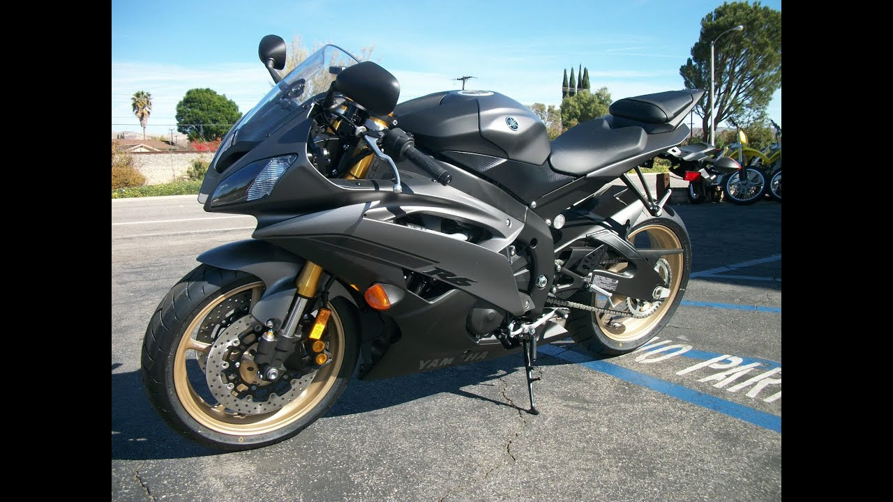 yamaha r6 black 2014 - photo #9