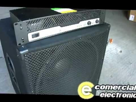 Video de conexión 2 subwoofers 18' mas amplificador mas... | Doovi