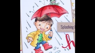 Rainy Days Copic Coloring Card Kit