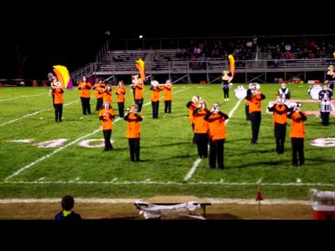 "Columbiana High School Dance Band ""Thriller"""