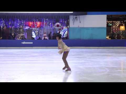 Kristina Ishihara Basic Novice A- Free Skating Vietnam Cup 2015