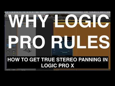 How to Achieve True Stereo Panning in Logic Pro X • Why