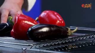 Соус айвар и соус из запечённых овощей и простокваши