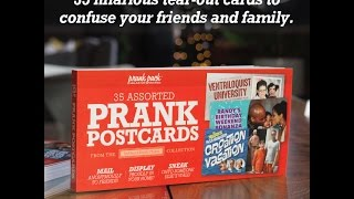 Prank Postcard Book