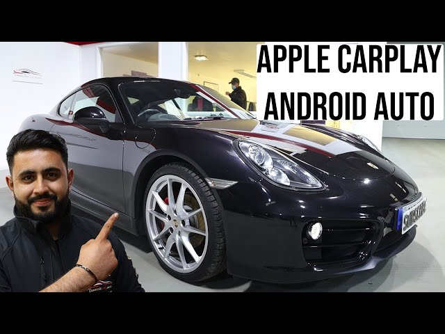 Porsche Cayman | Integrated Apple Carplay & Android Auto
