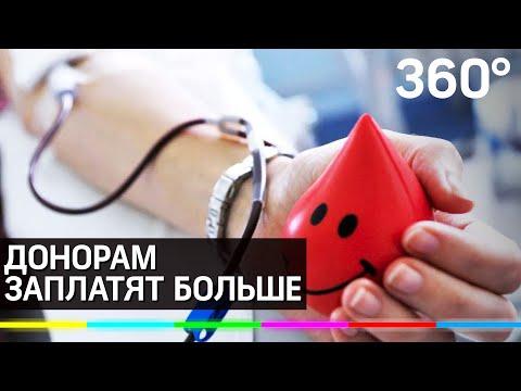 В Москве заплатят переболевшим коронавирусом за сдачу крови