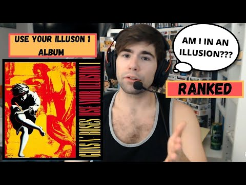 Guns N Roses Use your Illusion I Album – Ranking!