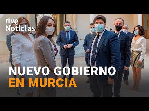 MURCIA: Los DIPUTADOS disidentes de CIUDADANOS toman posesión de sus cargos en el Gobierno I RTVE