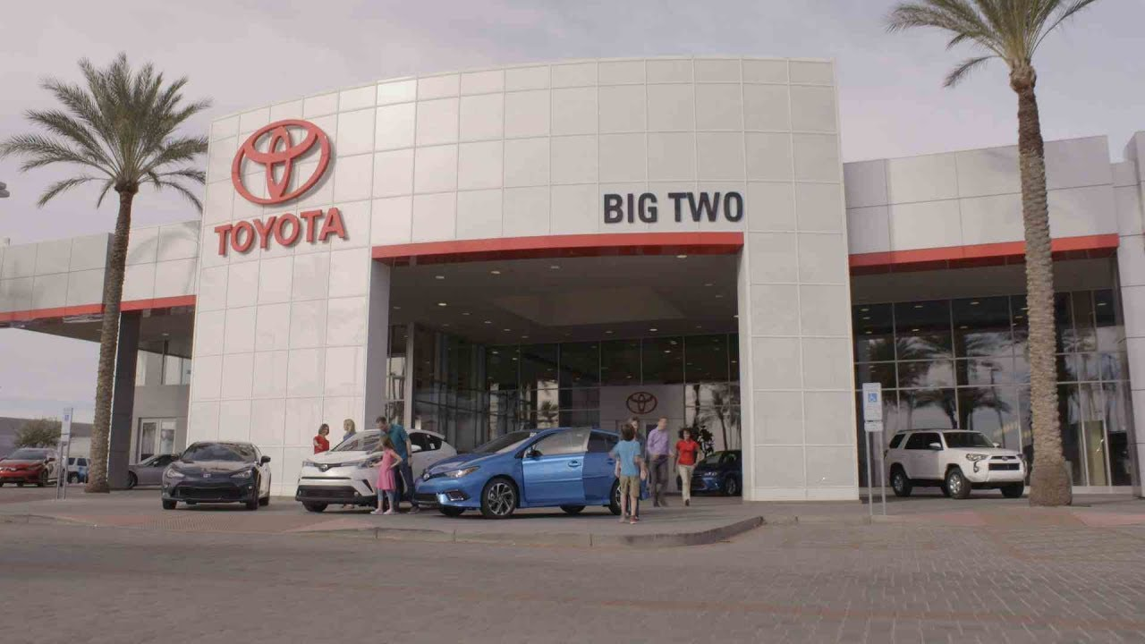 For The Best Car Buying Experience, Visit Big Two Toyota