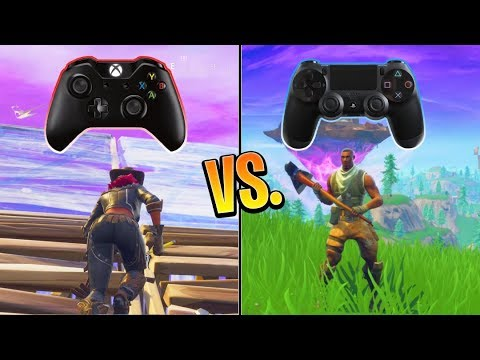 Proof Fortnite Xbox Players Are Better Than Ps4 Players