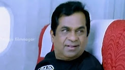 Brahmi Back-To-Back Comedy Scenes - Boss I love U