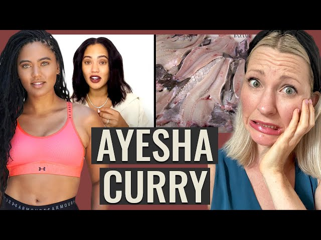 Dietitian Reviews Ayesha Curry What I Eat in a Day (We got a LOT of facts to check)