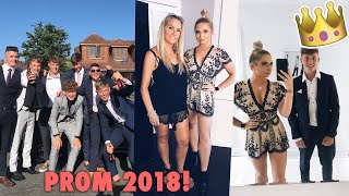 PROM 2018!!!! Outfits, Pre party and prom fun!!