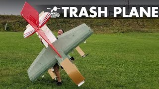 Rc Trash Plane - Airplane Boneyard Resurrection
