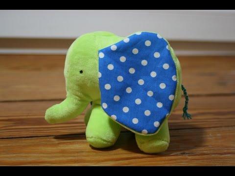 Elefant von Stefanie Perlenfee mit kostenlosem Schnittmuster