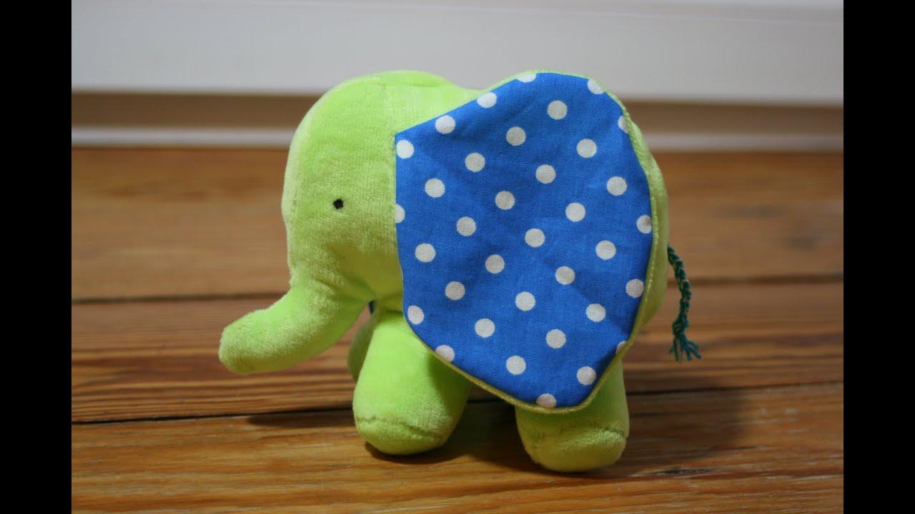 Elefant von Stefanie Perlenfee mit kostenlosem Schnittmuster - YouTube