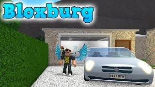 NEW CAR AND AWESOME GARAGE! -ROBLOX Bloxburg English Ep 7