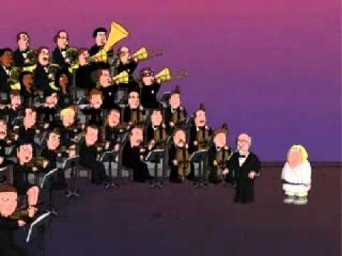 Family Guy - Star Wars - Luke's Theme at sunset on Tatoine - Blue Harvest
