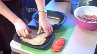 Лазанья с Ultra Pro Tupperware