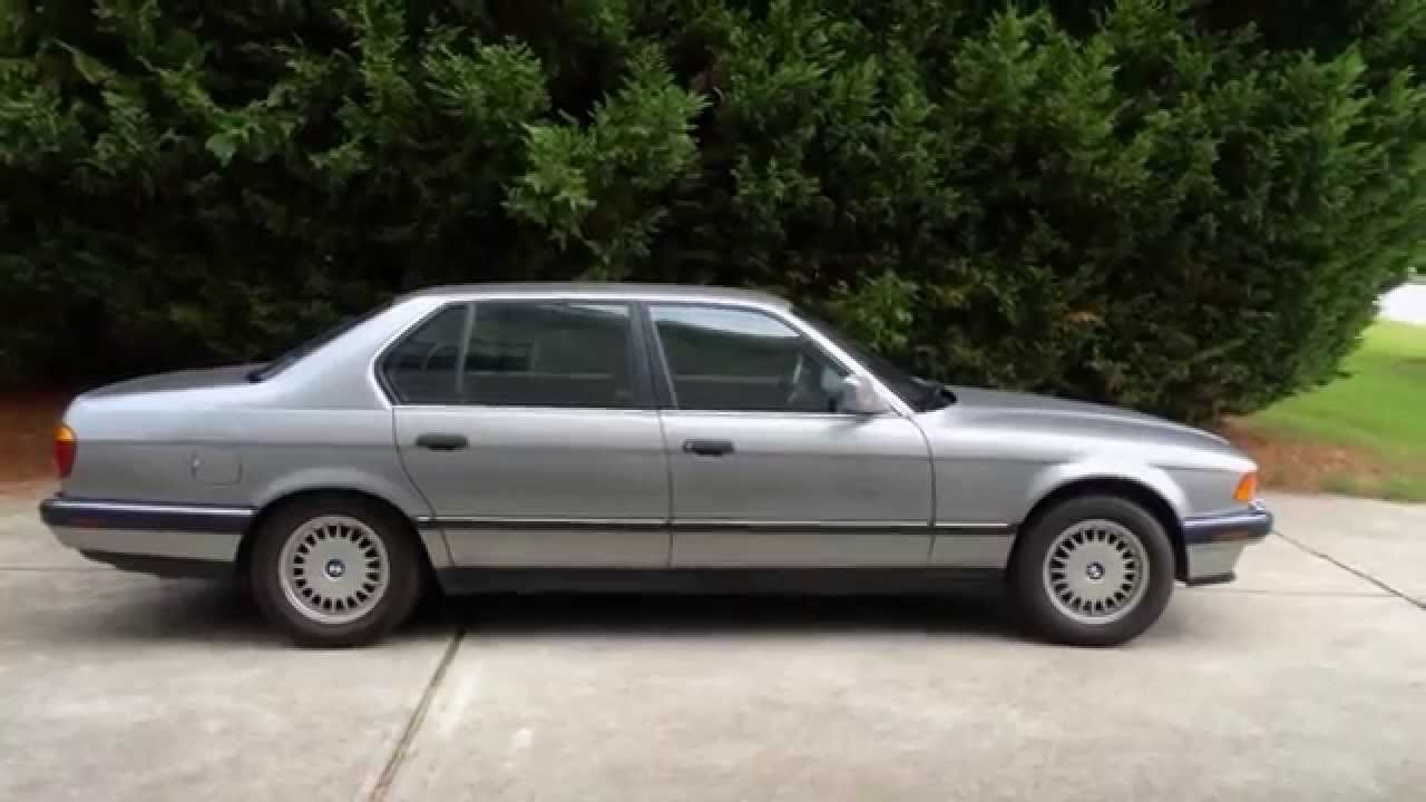 Melvin S 1989 Bmw E32 735il Introduction Youtube
