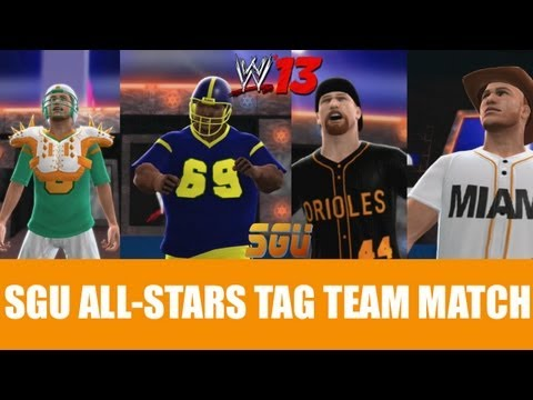 WWE 13: SGU All-Stars Tag Team Match ft Broadway & Kind vs. Pounder & Slinger