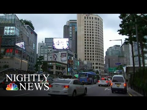 High Tension In Seoul, A City Just 35 Miles From North Korea Border | NBC Nightly News
