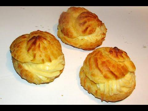 VANILLA CREAM PUFF - Easy Recipe