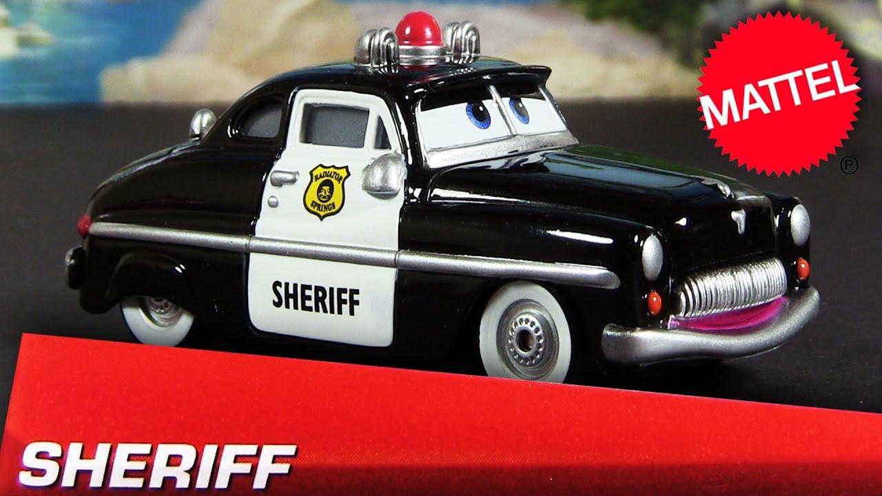 2013 Cars Sheriff Die Cast 1 55 Radiator Springs Disney Pixar Cars 2