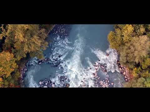 Droning over a river in Geneva - DJI SPARK