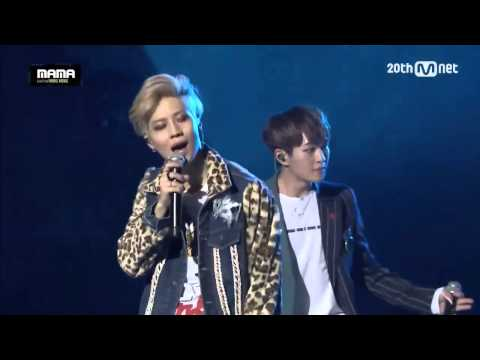 View - SHINEE Live MAMA 2015 Mnet