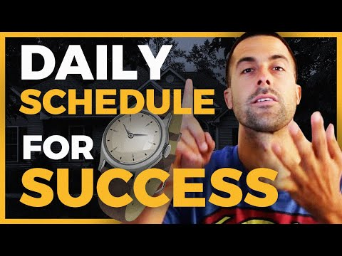 Daily Schedule For SUCCESSFUL Real Estate Agents