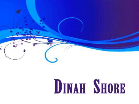 Dinah Shore - Body and soul