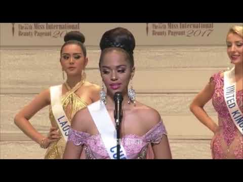 Chanelle de Lau Full Performance   MIss International Curaçao 2017