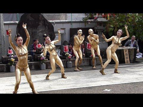 大須大道町人祭 2018(大駱駝艦 金粉ショー)大光院