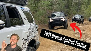 2021 Ford Bronco Video Testing Off Road (Sasquatch Package or Bad Lands?)