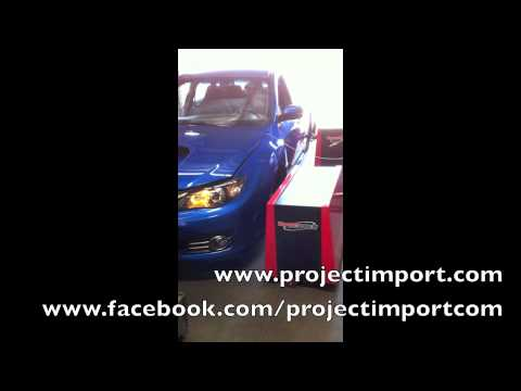 Project Import: 2008 Subaru STi Dyno Tune Blouch Dominator 2.5 XTR Perrin Invidia